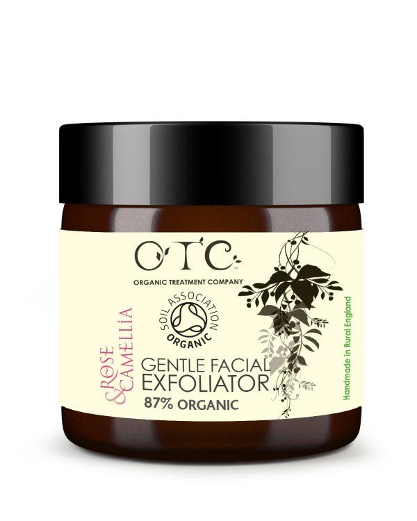 Gentle facial exfoliator