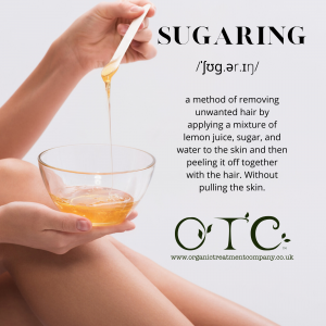 Definition of sugaring