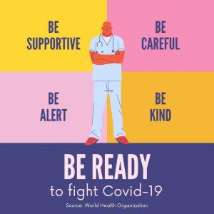 Coronavirus Instagram Post, Coronavirus Instagram Post, COVID-19, coronavirus, virus, prevention, health, epidemic, instagram post, instagram, yellow, if you are sick, disease prevention (2)